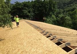 OSB板材房屋建造