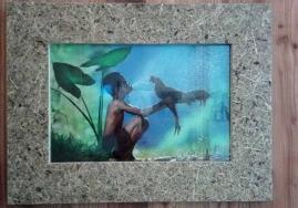 植物装饰板工艺礼品